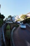 Rua San Francisco do Lombard Fotos de Stock