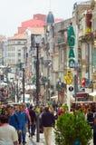 Rua Santa Catarina gata Royaltyfria Bilder