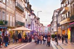Rua Santa Catarina. Porto, Portugal Stock Photos