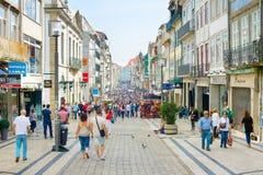 Rua Santa Catarina. Porto, Portugal Royalty Free Stock Photos