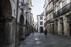 Rua santiago Imagens de Stock Royalty Free