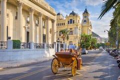 Rua Sceen de Malaga imagens de stock royalty free