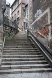Rua Schodowa em Bielsko - Biala imagem de stock