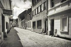 Rua secundária em Brasov Fotografia de Stock Royalty Free