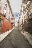 Rua secundária vazia Imagem de Stock