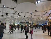 Rua subterrânea da compra em Munich Fotografia de Stock