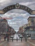 Rua sul Philadelphfia foto de stock royalty free