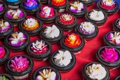 Rua tailandesa dos bens do artesanato Fotos de Stock Royalty Free