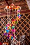 Rua tailandesa dos bens do artesanato Fotos de Stock