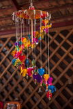 Rua tailandesa dos bens do artesanato Fotografia de Stock Royalty Free