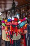 Rua tailandesa dos bens do artesanato Foto de Stock Royalty Free