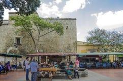 Rua tradicional em Oaxaca, México Foto de Stock