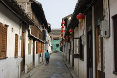 A rua velha Imagem de Stock Royalty Free