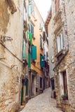 Rua velha da cidade Imagem de Stock Royalty Free