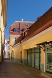 Rua velha da cidade Imagem de Stock