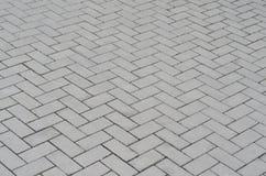Rua velha da textura do fundo do sumário do pavimento da pedra Imagens de Stock Royalty Free