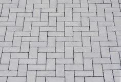 Rua velha 2 da textura do fundo do sumário do pavimento da pedra foto de stock
