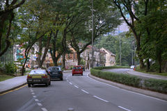 Rua velha de Kuala Lumpur Fotos de Stock