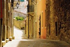 Rua velha de San Marino Fotos de Stock Royalty Free