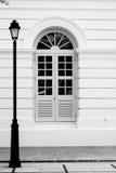 Rua velha e vazia Imagens de Stock Royalty Free