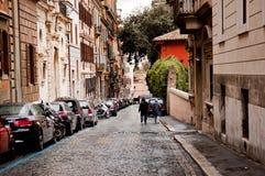 Rua velha em Roma, Itália Foto de Stock Royalty Free