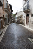 Rua velha italiana da cidade Foto de Stock
