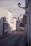 Rua velha mediterrânea da cidade Fotos de Stock
