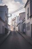 Rua velha mediterrânea da cidade Foto de Stock Royalty Free