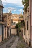 A rua velha siciliano Fotografia de Stock Royalty Free
