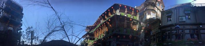 Rua velha Taiwan do brejo de Jiu imagem de stock royalty free