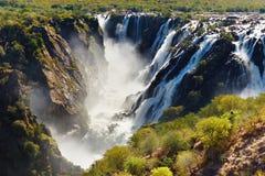 Ruacana Falls stock image