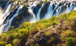 Ruacana Falls stock photography