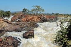 Ruacana waterfall Royalty Free Stock Photos