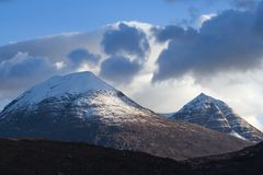 Ruadh-stac mor Royalty Free Stock Photography