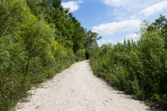 Rual Footpath Stock Images