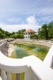 Ruan Vadhanna in Phra Chudadhuj Palace,Koh Sichang,Chonburi,Thailand. Royalty Free Stock Photography