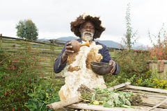 Ruandischer Medizinmann Stockbild