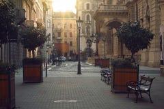 ruas imagens de stock