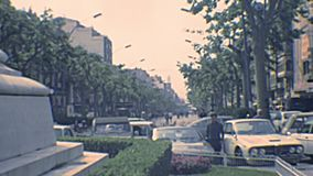Ruas arquivísticas de Tarragona video estoque