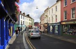 Ruas bonitas de Kilkenny fotografia de stock royalty free
