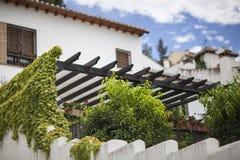 Ruas brancas de Granada imagens de stock royalty free