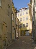 Ruas da cidade antiga Fotografia de Stock