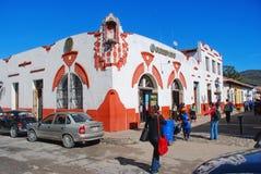 Ruas da cidade colonial Oaxaca, México Fotografia de Stock