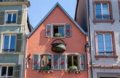 Ruas 5 da cidade de Colmar imagem de stock
