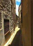 Ruas da cidade de Toledo, Espanha imagens de stock