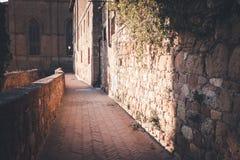 Ruas da cidade europeia velha foto de stock royalty free