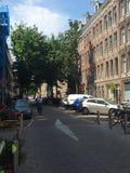 Ruas de Amsterdão foto de stock royalty free