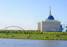 Ruas de Astana Imagens de Stock