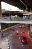 Ruas de Banguecoque Fotografia de Stock