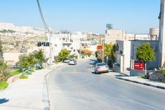 Ruas de Bethlehem fotos de stock royalty free
